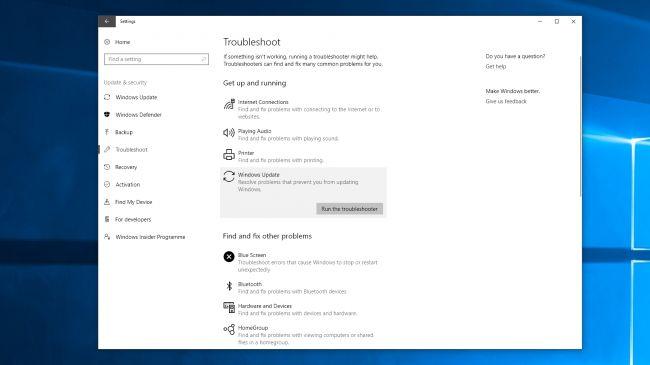 fix Windows 10 October 2018 Update installation problems