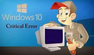 Fix Windows 10 Critical Error – Start Menu not working