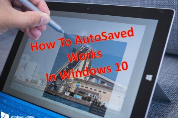 Auto Save Your work