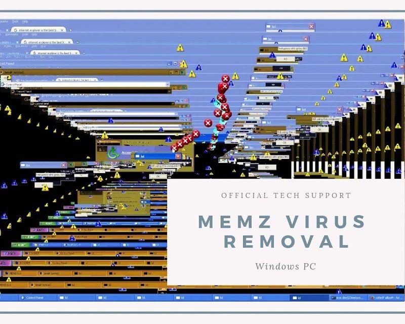 How To Remove Memz Virus From Windows 10 8 1 8 7 Updated
