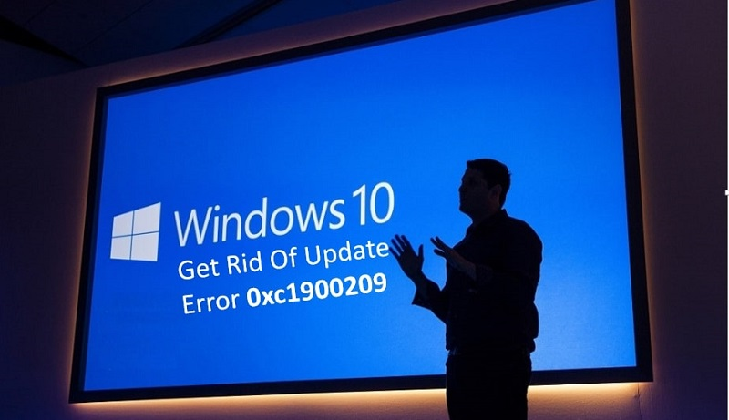 Get Rid Of Update Error 0xc1900209